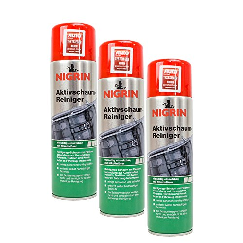 3x NIGRIN 74188 Aktivschaum-Reiniger 500 ml