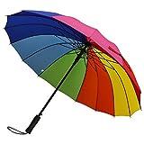 G4Free 51 Inch Automatic Open Large Umbrella Windproof Waterproof Stick Umbrellas for Men