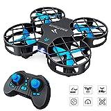 SNAPTAIN drone H823H Mini Drone RC Drone kwa watoto na Kompyuta Quadrocopter mini mfumo helikopta moja kwa moja urefu kudhibiti, 3D 360 ° upande ON-ufunguo Return / off / kutua, kichwa Losem mode