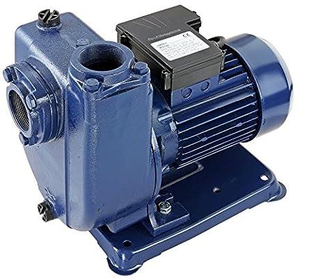 Pro-Lift-Montagetechnik 1100W selbstansaugende Wasserpumpe 230V, 400L/min bei 7,5m, MTK1500J, 02024