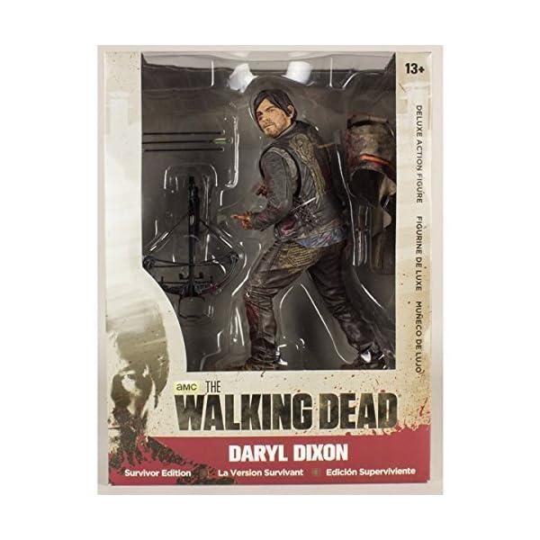 Star Imágenes Estrellas 10 Pulgadas Walking Dead Daryl Dixon Bloody Figura Deluxe Version 1