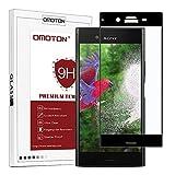 OMOTON Sony Xperia XZ1 [5.1 Pouces] Protection Ecran Verre Trempé [9H, Sans Bulles, Anti-Rayures] Film Protecteur