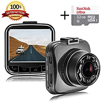 senwow mini dash cam 1080p full hd car camera 2 amazon. Black Bedroom Furniture Sets. Home Design Ideas