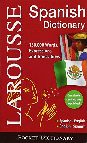 Larousse Diccionario Pocket Espanol- Ingles Ingles-Espanol / Larousse Pocket Dictionary, Spanish-English/English-Spanish por Larousse