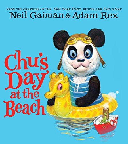 Chu's Day at the Beach Board Book por Neil Gaiman