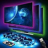 LED Strip InnooLight TV Hintergrundbeleuchtung LED-Streifen Led Lichterkette mit vielen Farben,...