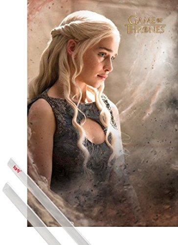 1art1 Poster + Sospensione : Il Trono di Spade Poster Stampa (91x61 cm)...