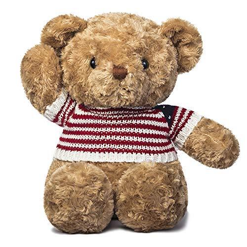 IKASA Teddy Bear Gigante con Grandes Huellas Juguete de Peluche Suave Animal de Peluche (Marrón, 200cm)