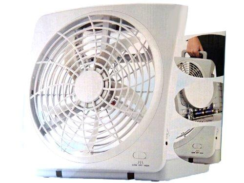 Preisvergleich Produktbild Nerd Clear Ventilator weiß Kühler Raum-Lüfter Luft-Erfrischer Lüftung Wohnmobil Wohnwagen Boot