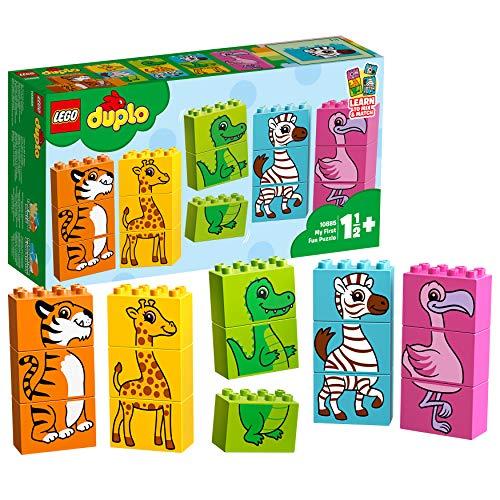 LEGO DUPLO Mes 1ers pas Mon premier puzzle amusant Jeu 18 Mois et Plus, 15 Pièces  10885
