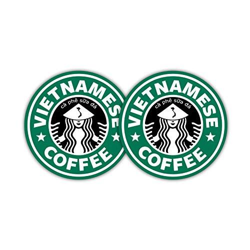 Vietnamesisch Starbucks Kaffee Tasse Tassen Aufkleber Aufkleber ca PHE SUA Da Schutzhülle Laptop Bumper Windows