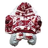 Feidaeu Winter Hundebekleidung Verdickung Cord Warme Nette Haustier Kostüm Chihuahua Kleine Hundemantel Jacke