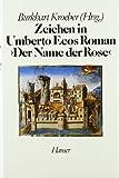 Zeichen in Umberto Ecos Roman