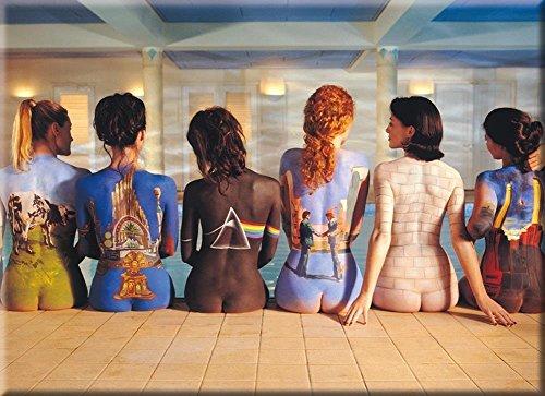 Pink Floyd Back Art Kühlschrank Magnet (Nm) -