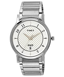 Timex Classics Analog Silver Dial Men's Watch - TI000R422