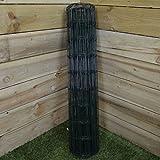 Green Blade BB-CW131 Gartenzaun, Grün, 10x 0,9m, PVC-beschichtet