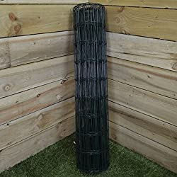 Hamble Green Blade BB-CW131 10 x 0.9m PVC Coated Garden Fence - Green