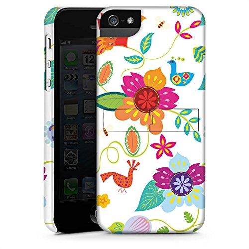 Apple iPhone X Silikon Hülle Case Schutzhülle Bunt Blumen Muster Premium Case StandUp