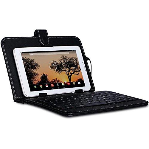 IKALL IK2(1+8GB) Dual Sim 3G Calling Tablet with Keyboard- White