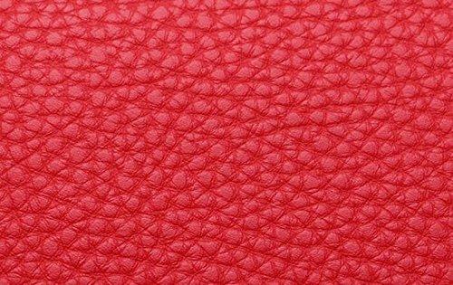 Einfache Beiläufige Damen Umhängetasche Handtaschenbrötchen Beuteldamen Arbeiten Elegante Atmosphäre Um Red