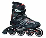 Fila Skate Primo Alu Rollers in-line pour homme 41 Multicolore - Noir/Rouge