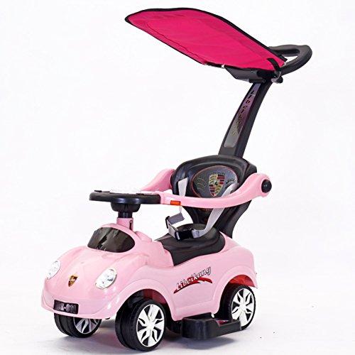 DULPLAY Auto Baby lauflernhilfe,6-36 monate Safety 1st Rollover verhindern Hand push Baby walker Musik und licht-F 34x27x9inch