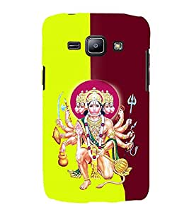 Rudraveerya 3D Hard Polycarbonate Designer Back Case Cover for Samsung Galaxy J2 (2015) :: Samsung Galaxy J2 J200F