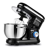 Alfawise Food Stand Mixer Dough Blender , 5.5 L 1090W MAX , 6