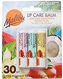 Malibu Lip Balm UVA/UVB Sunscreen Protection 30 SPF - PACK OF 3