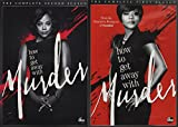 HOW TO GET AWAY WITH MURDER: SEASON 1 & SEASON 2 - HOW TO GET AWAY WITH MURDER: SEASON 1 & SEASON 2 (8 DVD)