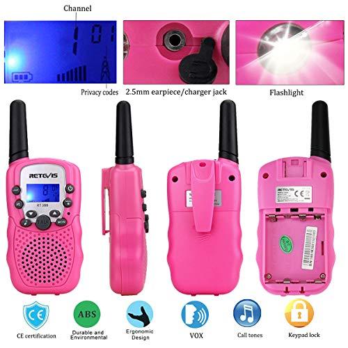Zoom IMG-3 retevis rt388 walkie talkie bambini