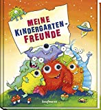 Meine Kindergarten-Freunde: Monster (Freundebücher für den Kindergarten)