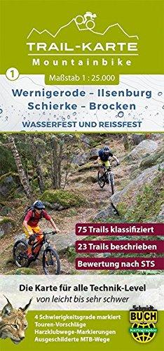 mtb-trail-karte-harz-wernigerode-ilsenburg-schierke-brocken-nr1-wasser-und-reissfeste-mountainbike-k