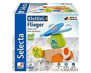 Selecta 62079 Klettini - Juguetes apilables con Velcro (5 Unidades)