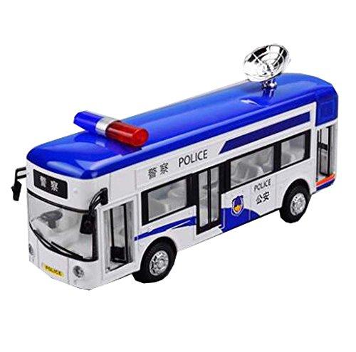 Black Temptation Juguete Coche / Autobús / Policía