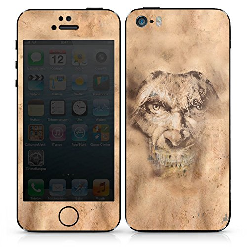 Apple iPhone 5s Case Skin Sticker aus Vinyl-Folie Aufkleber Metal Musik Doro DesignSkins® glänzend