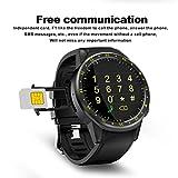Voberry Smart Watch, GPS Uhr Bluetooth Sport Smart Watch Fitness Tracker Frontkamera