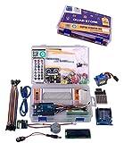 #8: Quad Store(TM) - Super Starter Kit for Arduino Uno R3 (Beginner's Kit)
