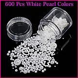 Gellen Perle/Pearl Dekoration,verschiendens Größe,600 PCs #01