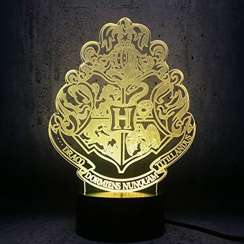 me Decor Totem Film Fans Geschenke Teenager Raum Dekor kreative Ausstellung Lampe Display Birne LHDOVIS ()