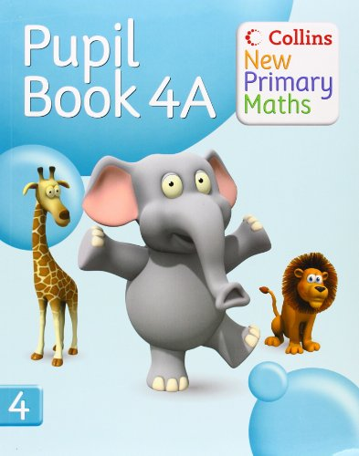Collins New Primary Maths – Pupil Book 4A (Busy Ant Maths European edition)