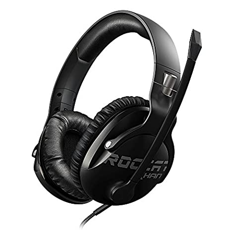 Roccat Khan Pro - Competitive High Resolution Gaming Headset, schwarz (Pro Gaming Headset)