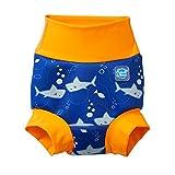 Splash About Kids' New Improved Happy Nappy, Shark Orange, 12-24 Months