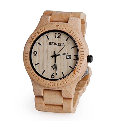 wooden-wrist-watch-ihee-bewell-zs-w086b-lightweight-men-wood-analog-quartz-watch-movement-day-displa