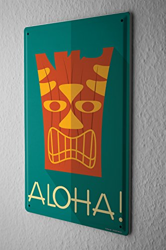 Cartel-Letrero-de-Chapa-Diversin-Aloha