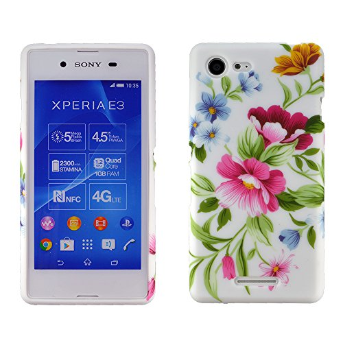 Image of zkiosk Star 'Design silicone case cover for Sony Xperia E3D2203
