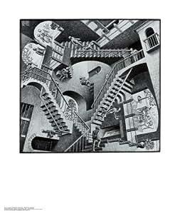 Relativity Collections Art Poster Print by M. C. Escher, 56x67