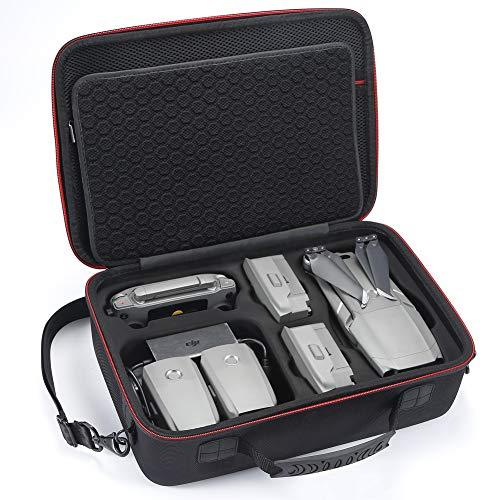 Hart Tragetasche für DJI Mavic 2 Pro/Zoom und Fly More Kit, Ideal für Reisen und Aufbewahrung (Nicht geeignet für Mavic pro / Mavic Platinum) -