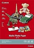 Canon MP-101, A3 Fotopapier matt (170 g/qm), A3, 40 Blatt