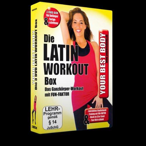 Preisvergleich Produktbild Your Best Body - Die Latin Work Out Box [3 DVDs]